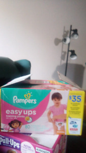 Size 2t-3t pampers easy ups