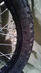 """2 Motorcycle front wheel 90/90-21 .54S New (21""""rim) West Island Greater Montréal image 3"""