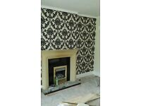 Painter and decorator experienced wallpaper hangerer interior designer decor