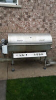 Stainless steel piglet, lamb, chicken, etc roaster and bbq combo