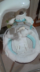 Little Lamb cradle and swing
