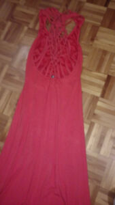 Plusieurs robes longues maxi small Guess corail