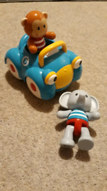 Early Learning Centre- Chunky Car & 2 Figures