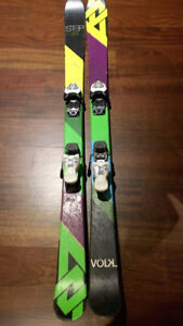 Youth Volkl Step twin tip skis 138 cm