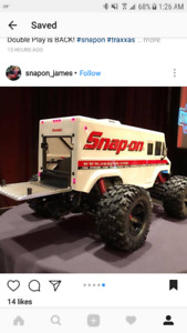 Snap On tool truck body for Xmaxx