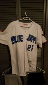Roger Clemens Toronto Blue Jays authentic jersey