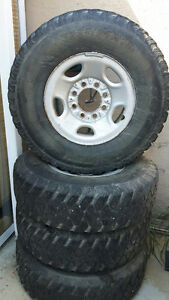 4 LT 235/85/R16 tires on rims