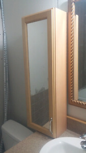 Cabinets with Mirrors  $75 for both