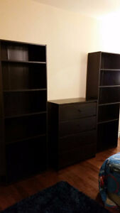 Completely new bookcases/ Drawer