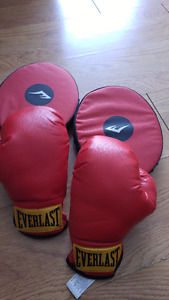 Everlast Family Boxing Training Gloves Set (Novice)