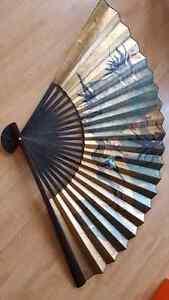 *Reduced* Oriental Wall Fan