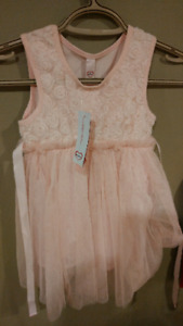 Brand new Toddler/Infant flower girl or princess dresses