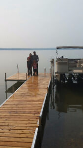 FIVE FOOT WIDE, AFFORDABLE ALUMINUM / CEDAR DOCKS