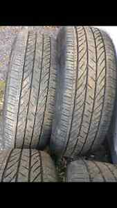 4x Bridgestone Tires - used -235/55R20