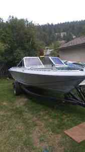Open bow 120hp 16 foot