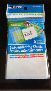 Studio Self-Laminating Sheets
