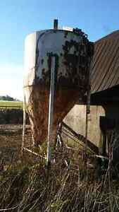Grain bin.  London Ontario image 1