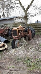 Antique tractors