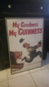 Beer sign - Oh my goodness my guinness Original
