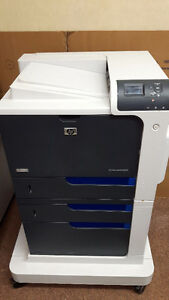 HP Color LaserJet Enterprise Printer CP4525DN with Stand