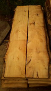 Knotty Pine Slabs for Counter tops, Islands, Bars