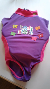 Swim suit flotation built in girls small Body Glove