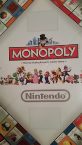 Brand New Super Mario Monopoly Collector's Edition (2 Sets) $35/