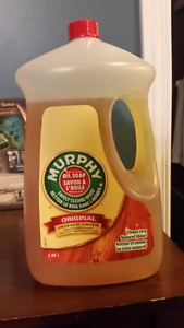 Free jug of murphy soap - oil soap for wood