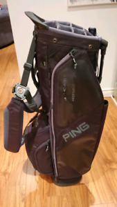 Golf Ping Hoofer Standbag - black - almost new condition