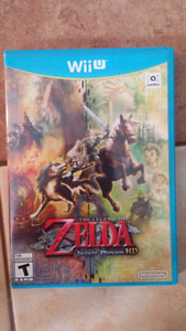 JEU À LA WII U - THE LEGEND OF ZELDA TWILIGHT PRINCESS HD