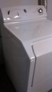 Maytag top-load washing machine and dryer