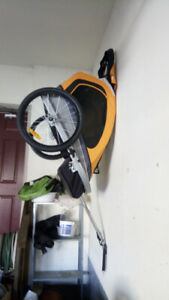Via Velo - Deluxe Bike Trailer and Jogger - New condition
