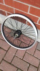 BMX rear wheel