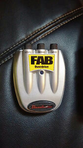 Fab overdrive pedal