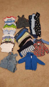 3-6 month BOY clothing lot