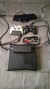 Xbox 360s 320 gb with kinect