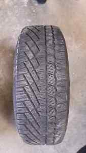 1 winter tire continental 225/60r16