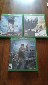 Few xbox one games for sale