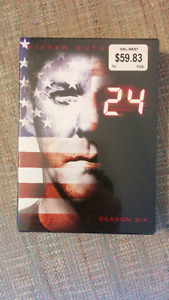 24 Season 6 (Brand new and sealed)