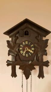 Horloge coucou G.M.Angem-West Germany.
