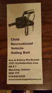 Snowmobile Riding Belt for Kids Peterborough Peterborough Area image 2