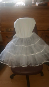petticoat skirt/ dress
