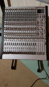 Studio Gear - 32CH Mixing Board + Outboard Rack Gear, Cables