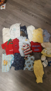 0-3 baby clothes lot