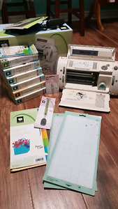 Cricut Personal Electronic Cutter with Supplies and Cartridges