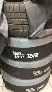 235 55 17 ContiWintercontact with bmw steel rims.95%