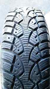 Almost brand new 175 70 13 winter tires