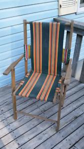 Vintage lawn chair