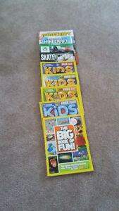 9 Kid`s Magazines