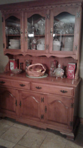 Roxton Maple Buffet and Hutch made in Canada